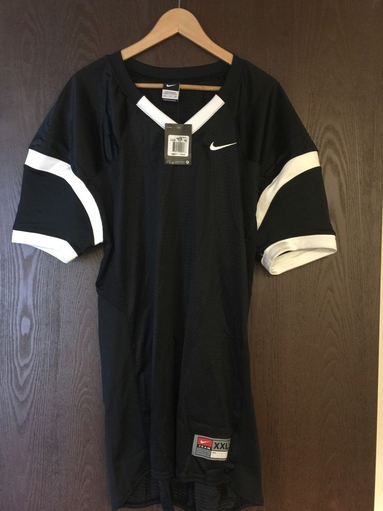 Nike black mesh football practice jersey size xxl nike