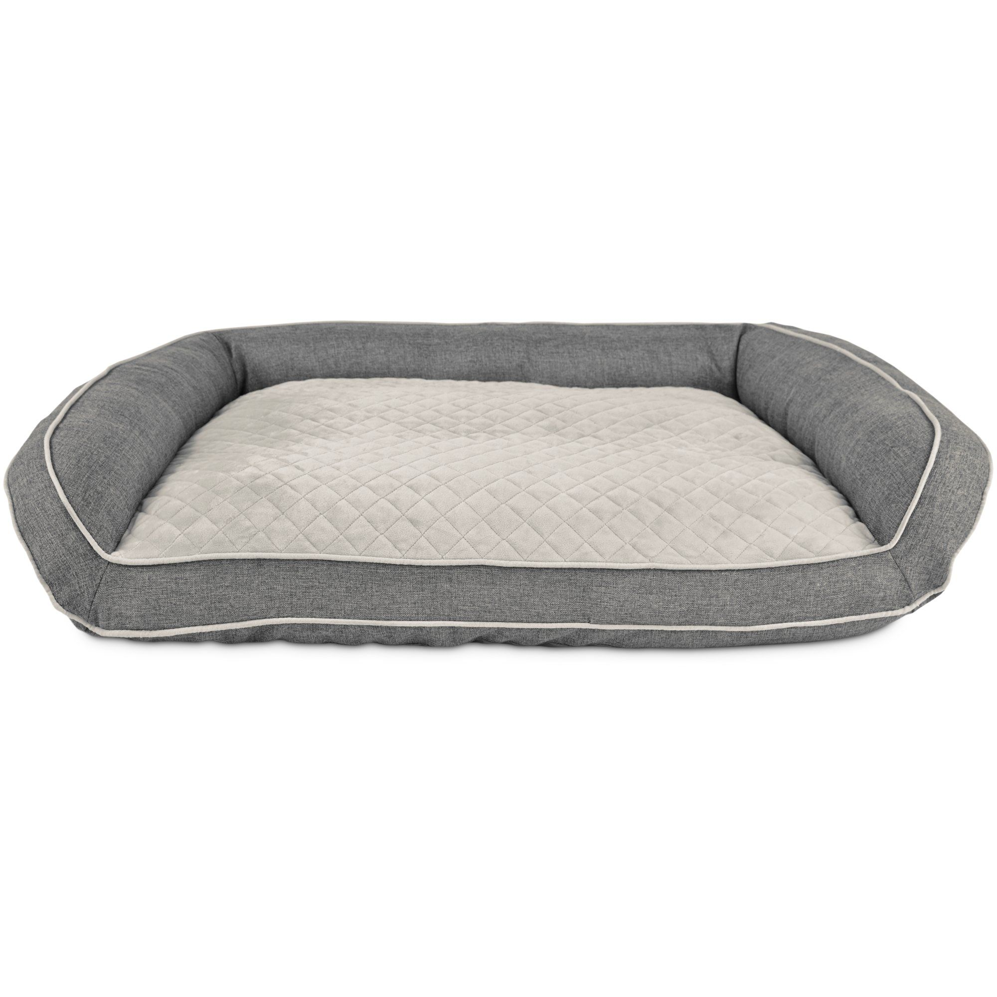 preferred sale raised sunshiny bolster dog large orthopedic petco beds multipurpose bed linen peaceful couches foam bedding then price also as cheapest genpets rc piquant memory wooden smart sided wells