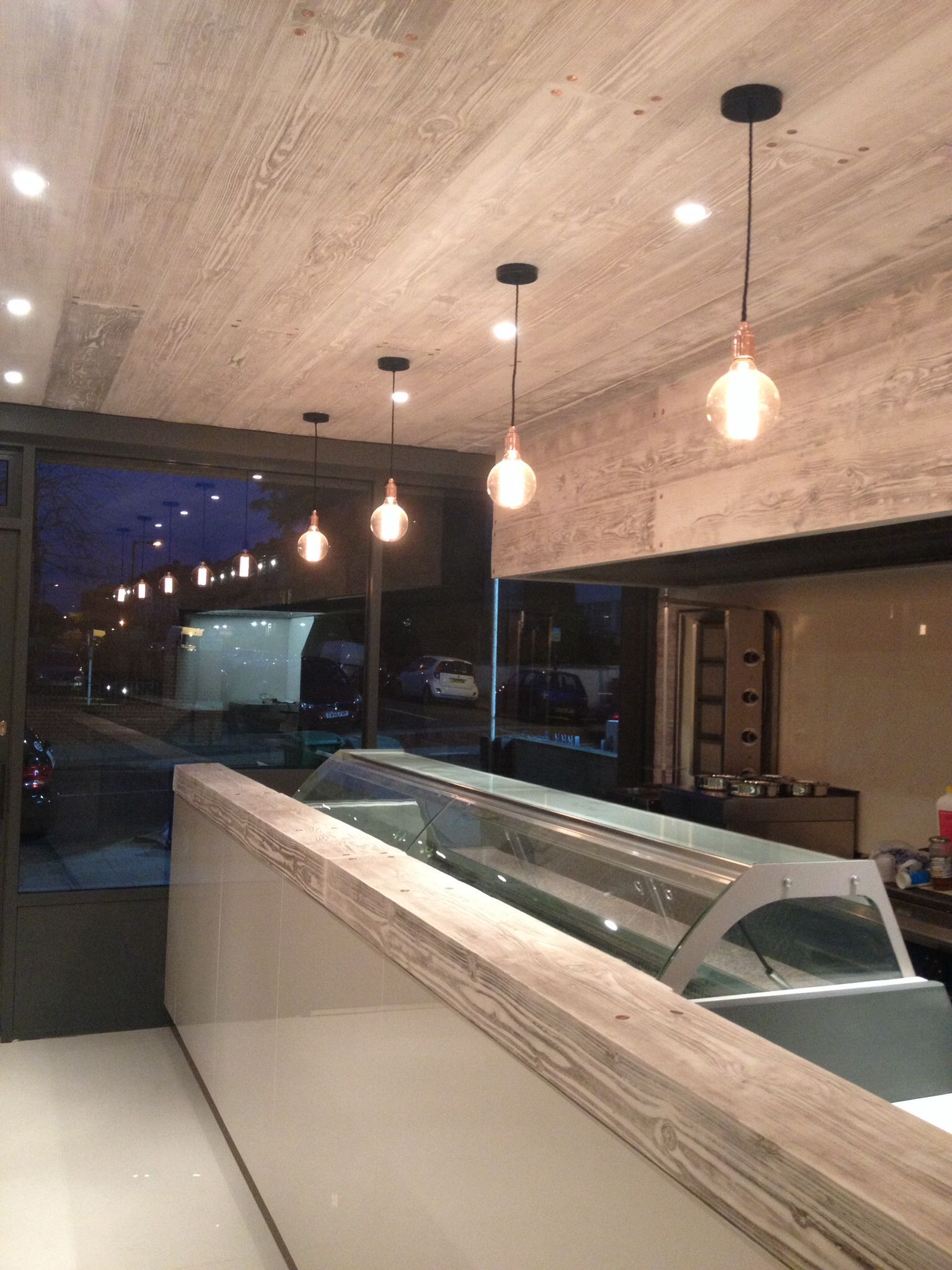 Restaurant counter