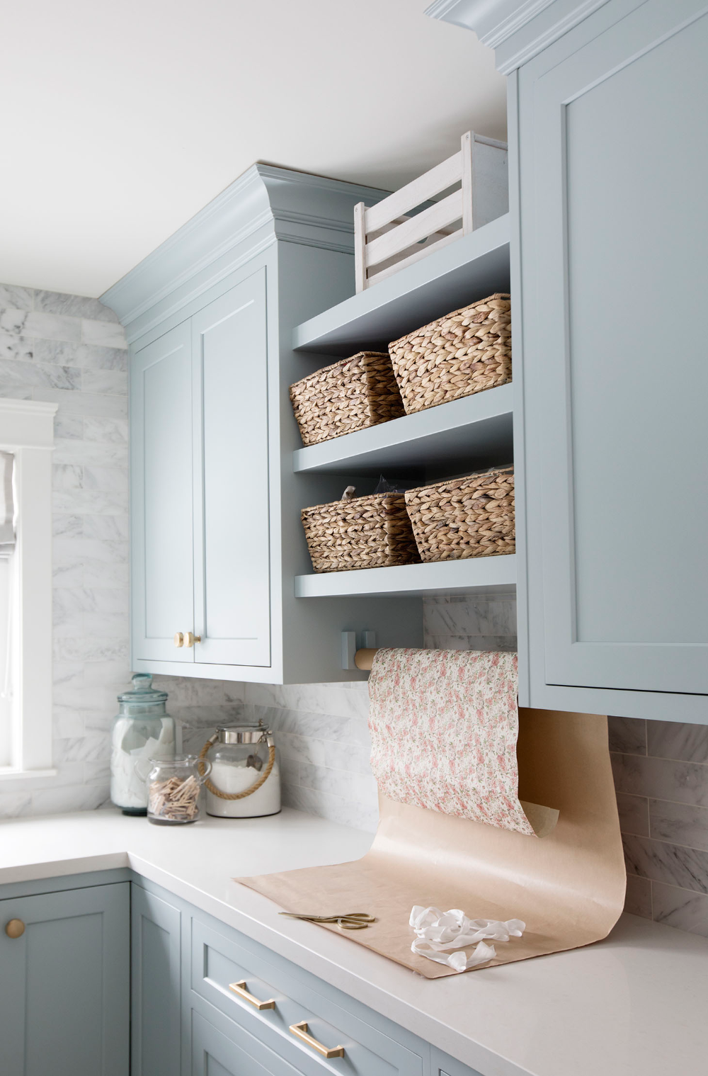 The Best Blue Gray Paint Colors in 2020 | Painted kitchen ...