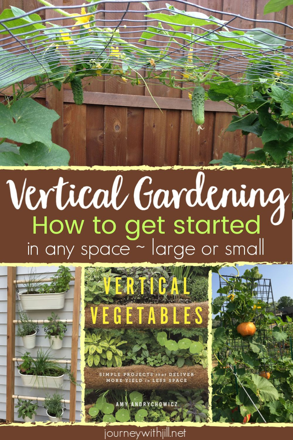 Vertical Vegetables  Unique DIY Ideas for Any Space is part of Vertical garden, Vertical container gardening, Diy container gardening, Vertical vegetable garden, Vertical herb garden, Garden beds - Whether you're growing in a small garden, raised beds, or containers, you can grow vertical vegetables with these DIY ideas