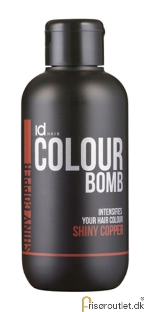 Id Hair Colour Bomb Shiny Copper - 250 ml.