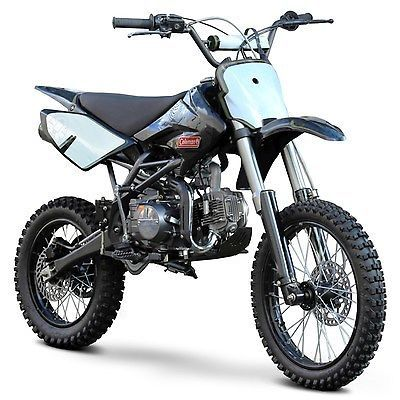 Coleman Power Sport 125cc Dirt Bike Motorcycle 5 Speed 60 Mph 4 Stroke Motocross Bikes Pit Bike Bike