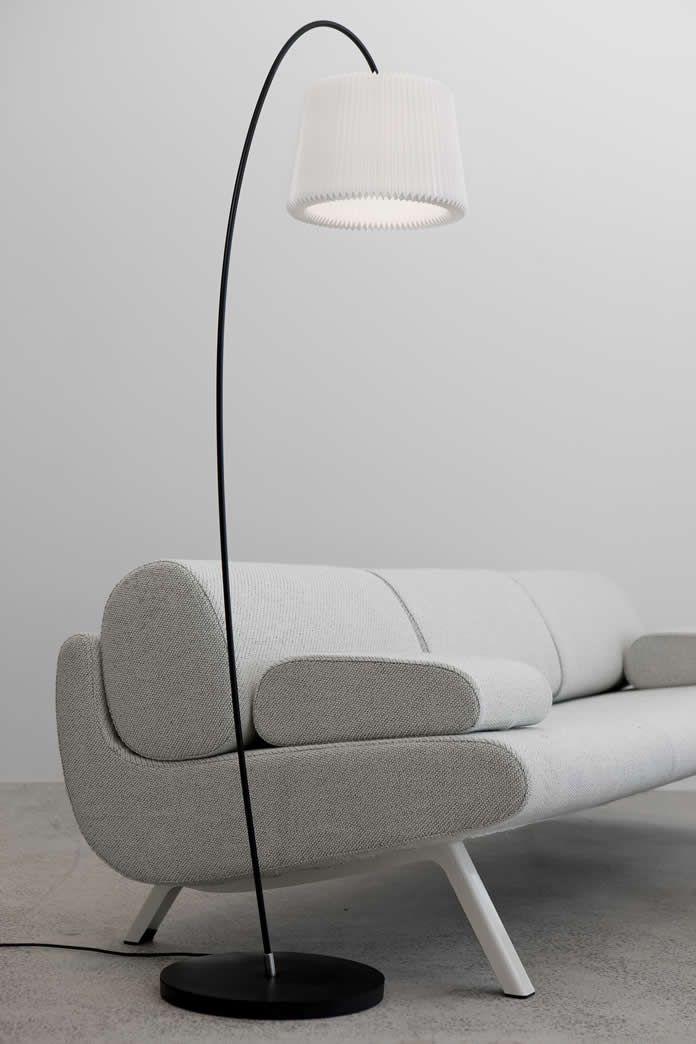 Design Staande Lamp Zwart Leeslamp  woonkamer  Lampen