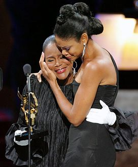 Powerful: Legend Cicely Tyson with Kimberly Elise (they look like mother  and daughter)