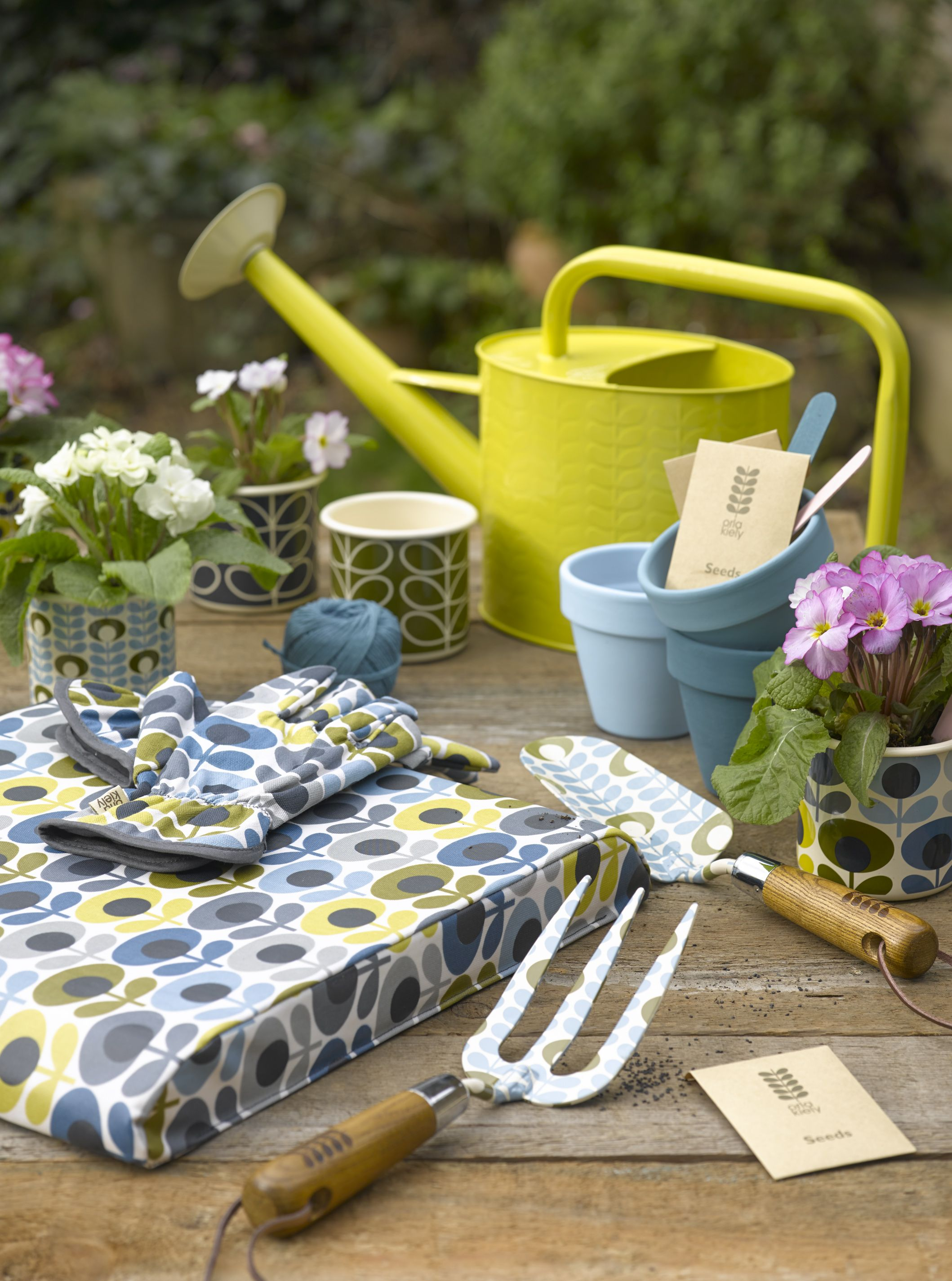 Gorgeous Gardening By Orla Kiely And Wild & Wolf