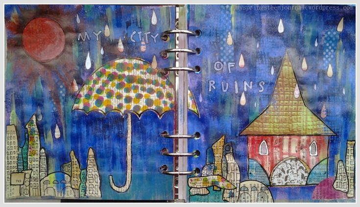 my city of ruins  #springsteen #journaling #art
