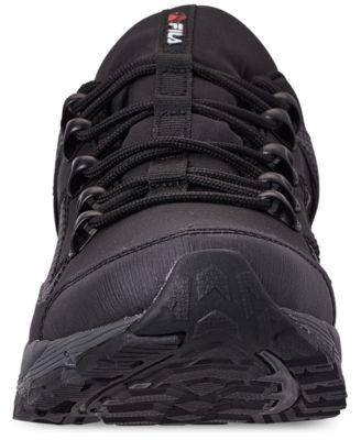 c6b6b608fb Fila Men's Switchback 2 Hiking Sneakerboots from Finish Line - Black 11.5