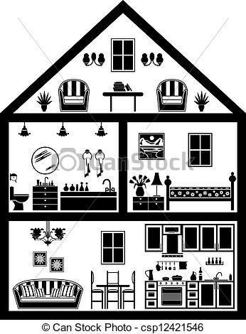 House Illustration Black And White Google Search House Illustration House Outline House Clipart