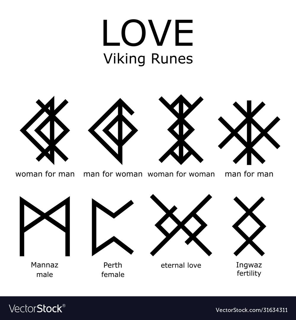 Ancient Writing System Old Scandinavian Rune Letter Symbols In Black Isolated On White Download A Free Preview Or Hi In 2020 Viking Runes Rune Tattoo Ancient Writing