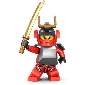 Amazon.com: Samurai X with Gold Sword - LEGO Ninjago Minifigure: Toys & Games