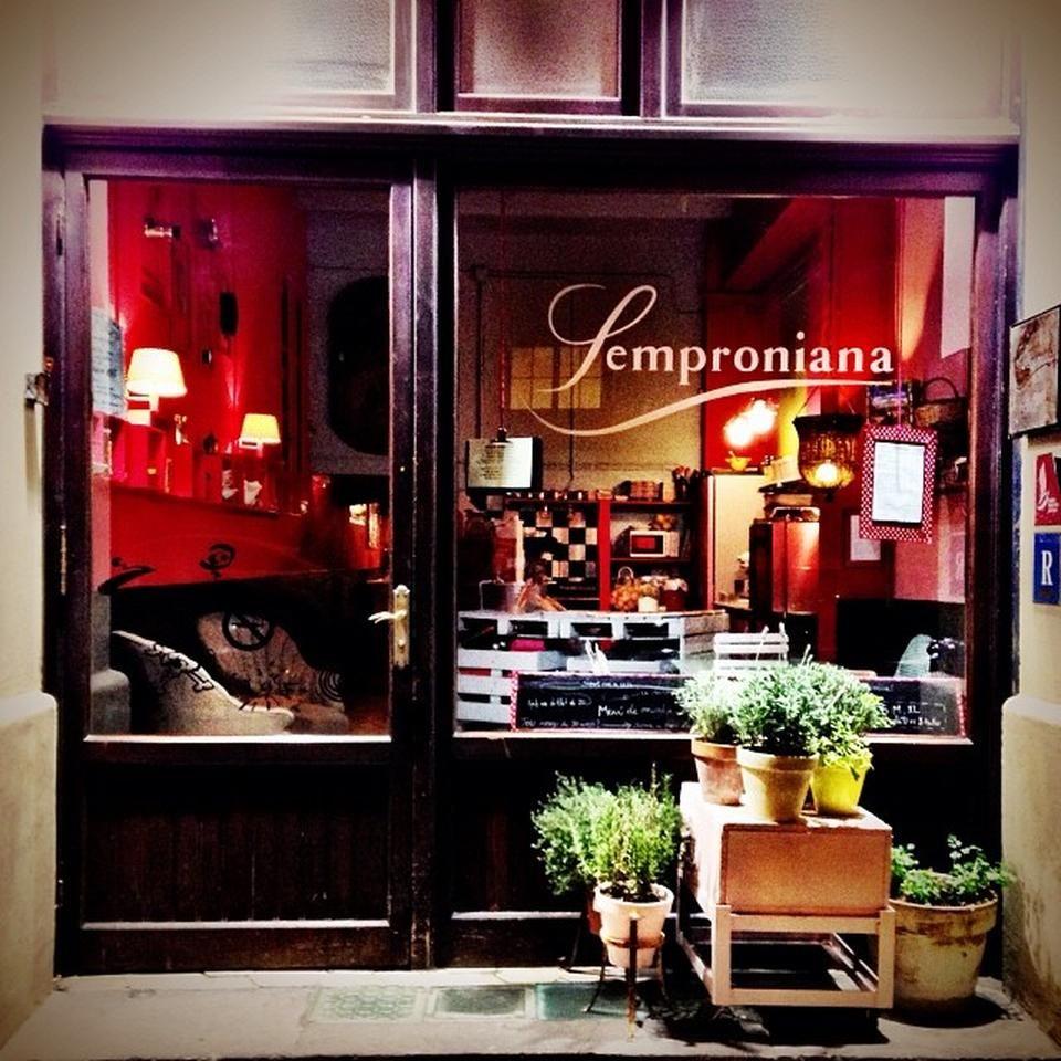 Semproniana L Antiga Esquerra De L Eixample Barcelona  ~ Restaurant Semproniana Barcelona