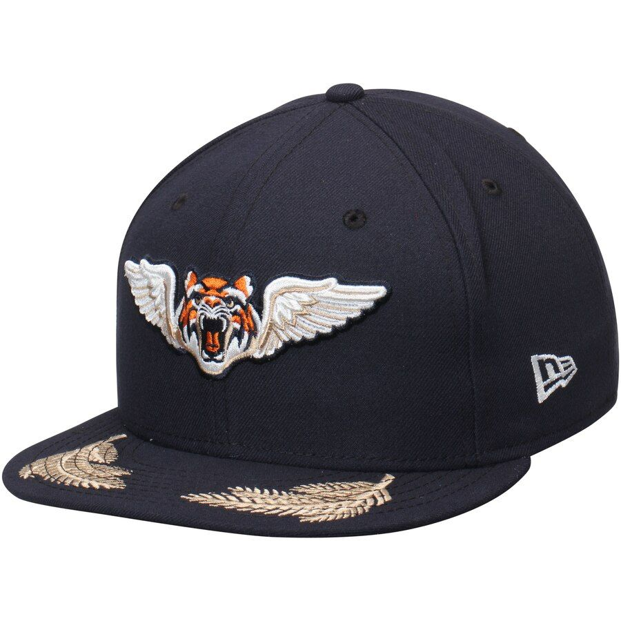 e8318a7c1 Lakeland Tigers New Era Authentic 59FIFTY Fitted Hat - Navy in 2019 ...