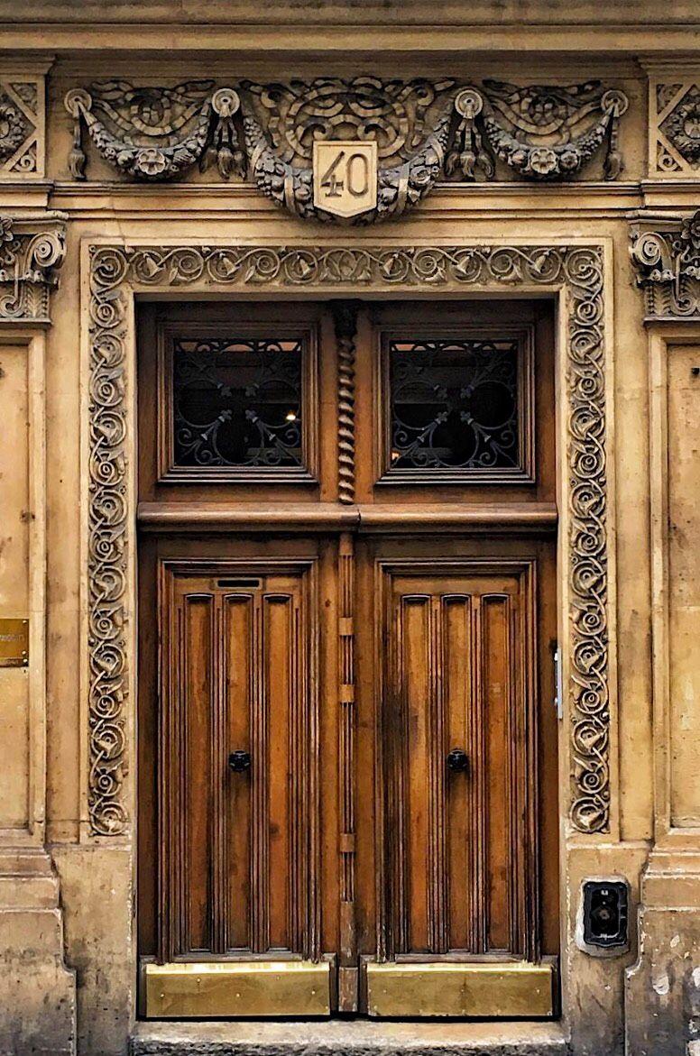 Paris France Antique Doors Entry Doors Doors