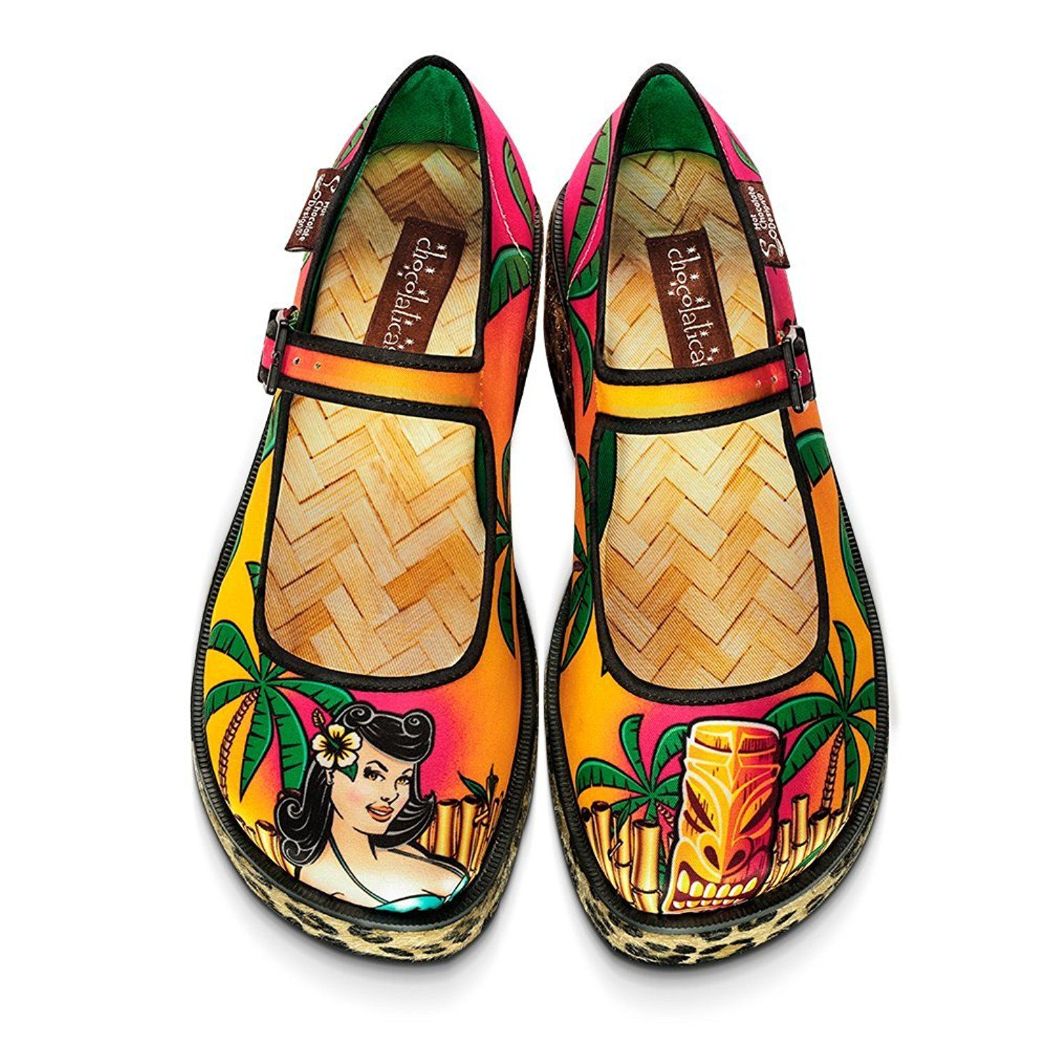 Amazon.com | Hot Chocolate Design Chocolaticas Tiki Women's Mary ...