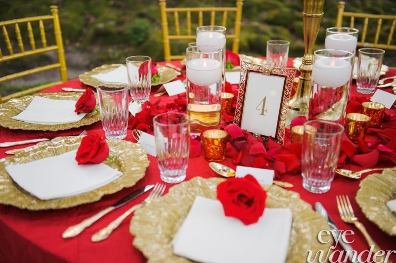 Oak Alley Wedding, Destination Wedding Photography, Red, White, Gold ...
