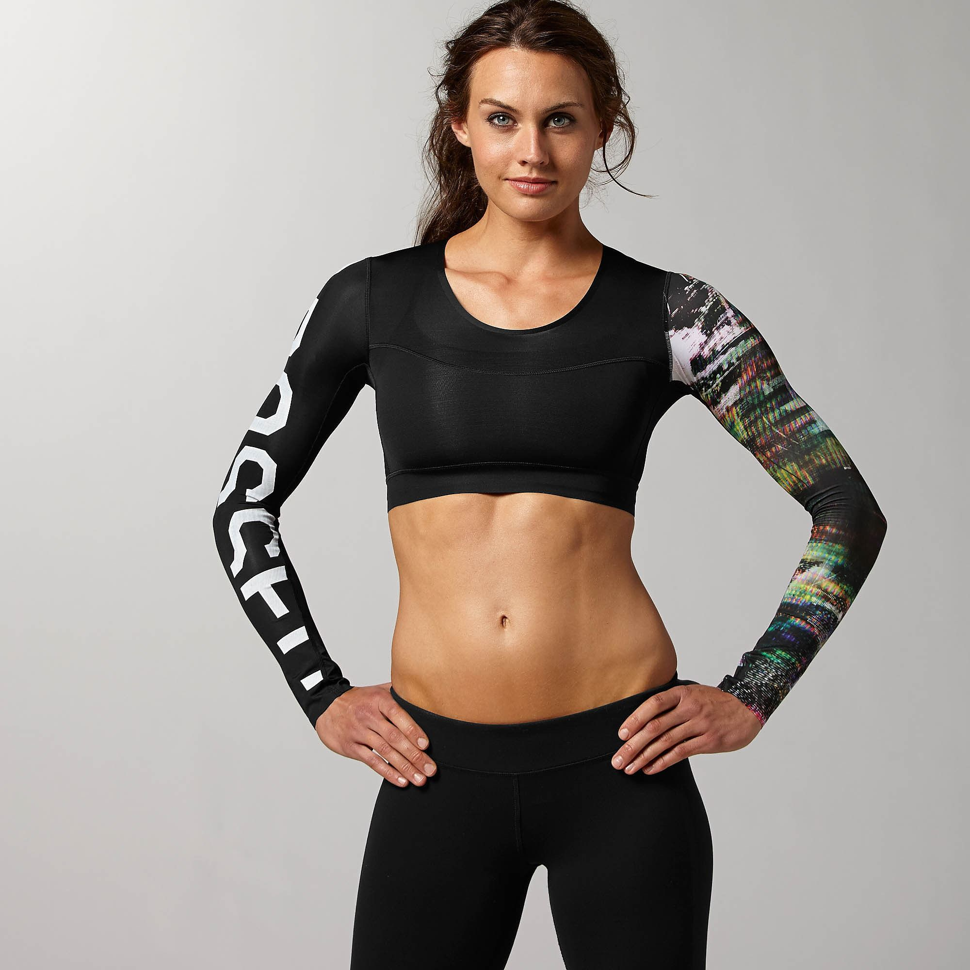 3fd04918ad Lightweight and featuring PlayDry technology this compression crop ...