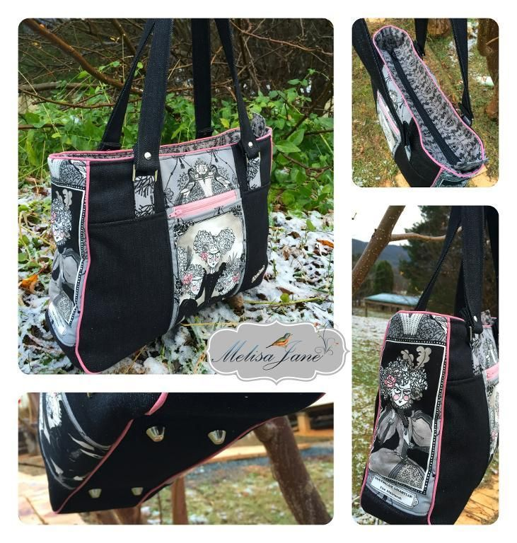 (9) Name: 'Sewing : Goin' Uptown Tote Pattern