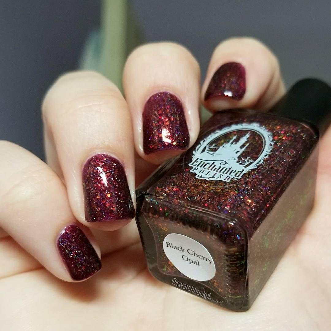 Enchanted Polish Black Cherry Opal   Nail Polish!   Pinterest