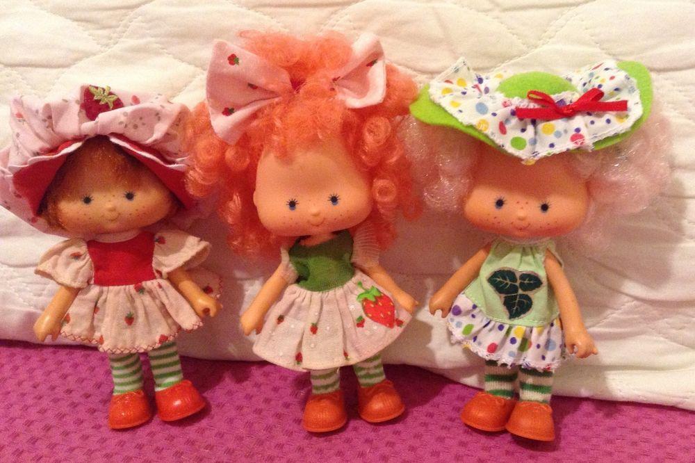 vintage Brazilian Strawberry Shortcake doll Brazil Lot 1 #EstrelaToys #BrazilianStrawberryShortcake