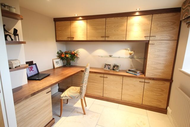 Fitted Home Office Furniture Home Study Storage Lancashire Cheshire  Manchester Yorkshire Cumbria