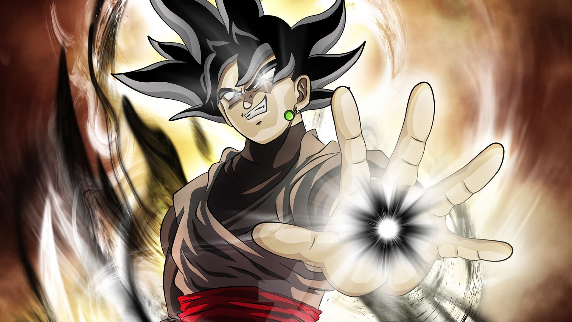 Black Goku Wallpapers Hd Goku Wallpaper Black Dragon Goku