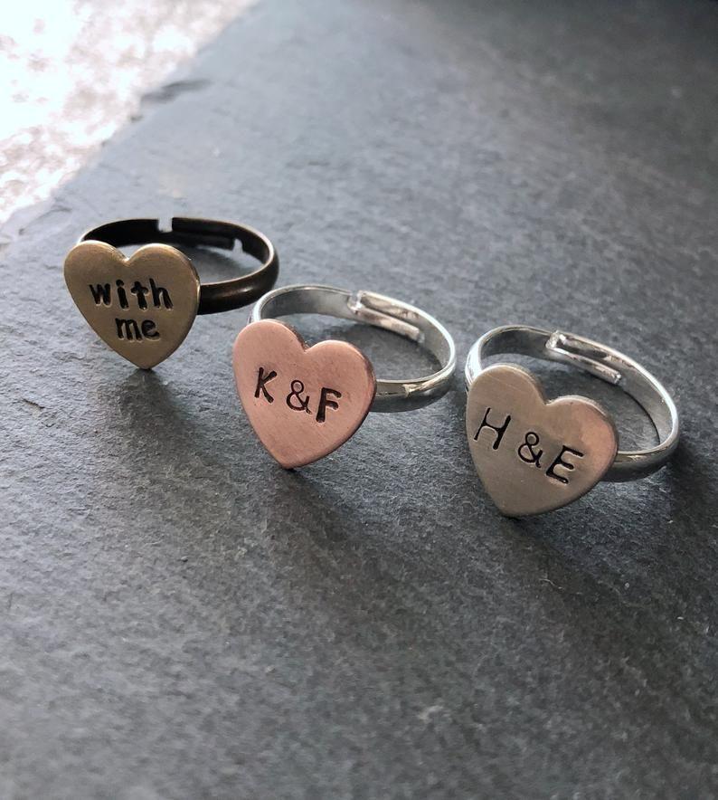 Customized couple matching jewelry personalized couples