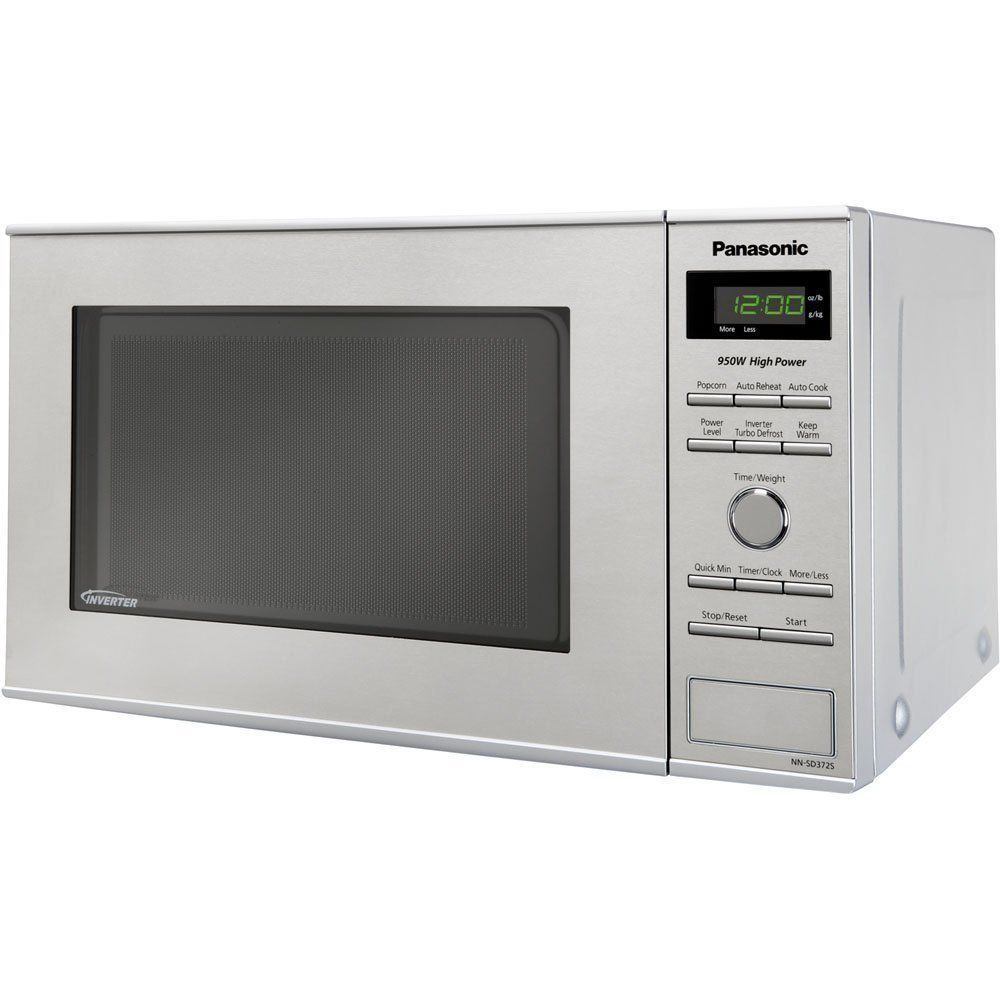 Panasonic Nn Sd372s Stainless 950w 0 8 Cu Ft Countertop Microwave Ovencountertop