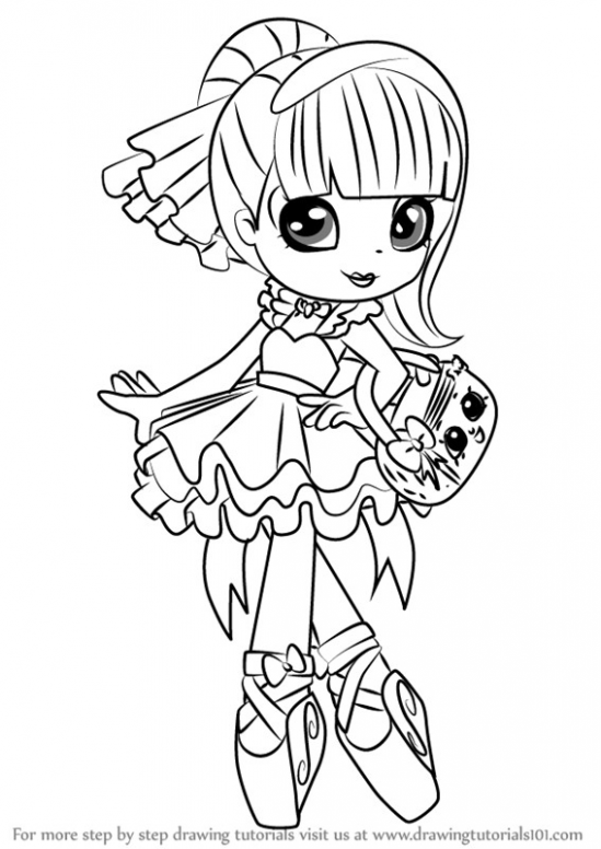 Shopkin Doll Coloring Pages Itc Info Coloring Pages Free Coloring Pages Shopkins Colouring Pages
