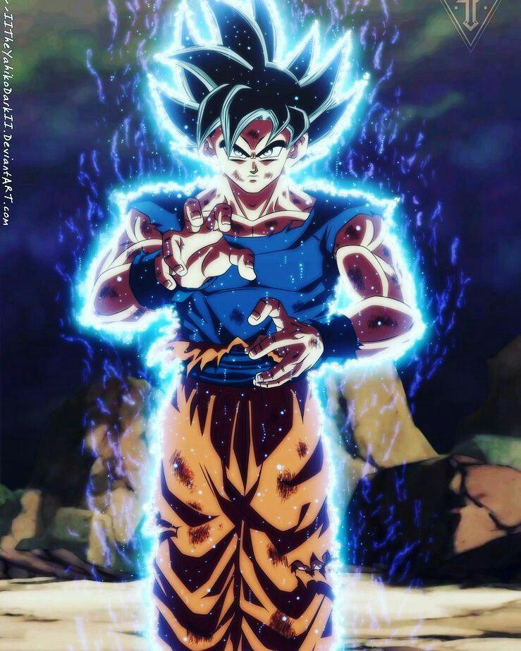 Goku Instinto Superior Anime Dragon Ball E Desenhos