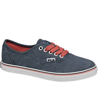Fila Men's Lace up Canvas Shoes in Blue