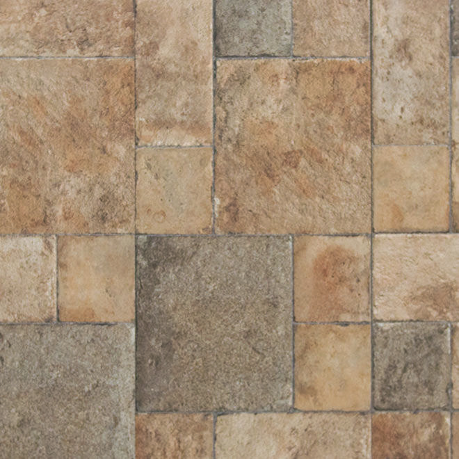 Tuscany Stone Embossed Tile Look Laminate Flooring