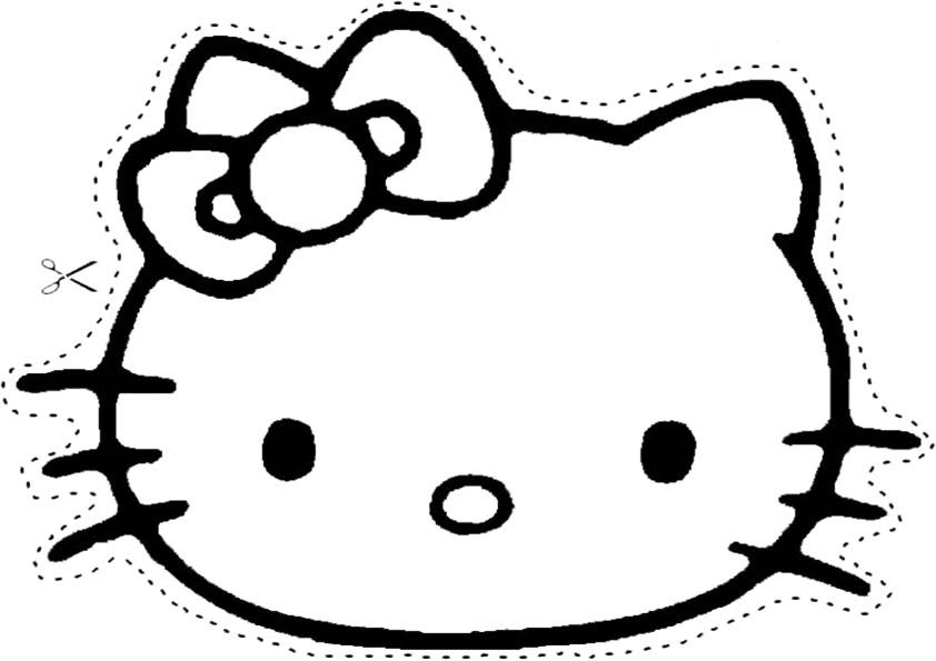 Malvorlagen-Ausmalbilder, Hello Kitty-34 | Ausmalbilder Hello Kitty ...