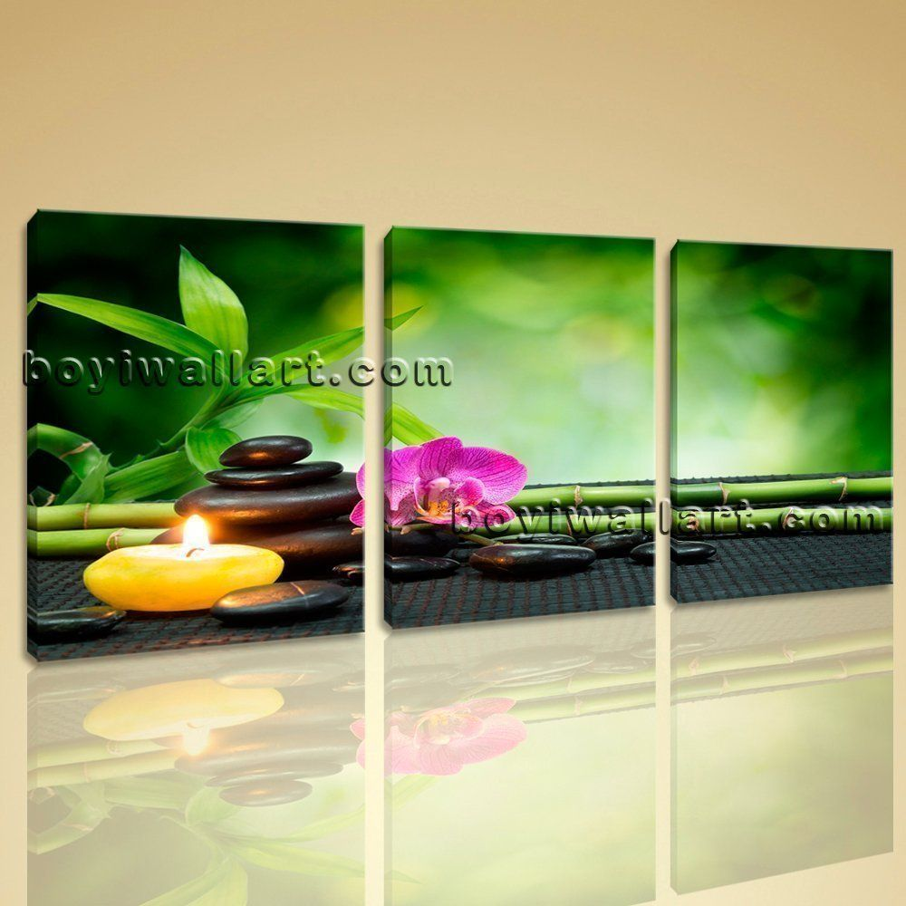 Modern abstract feng shui painting hd print decorative home canvas