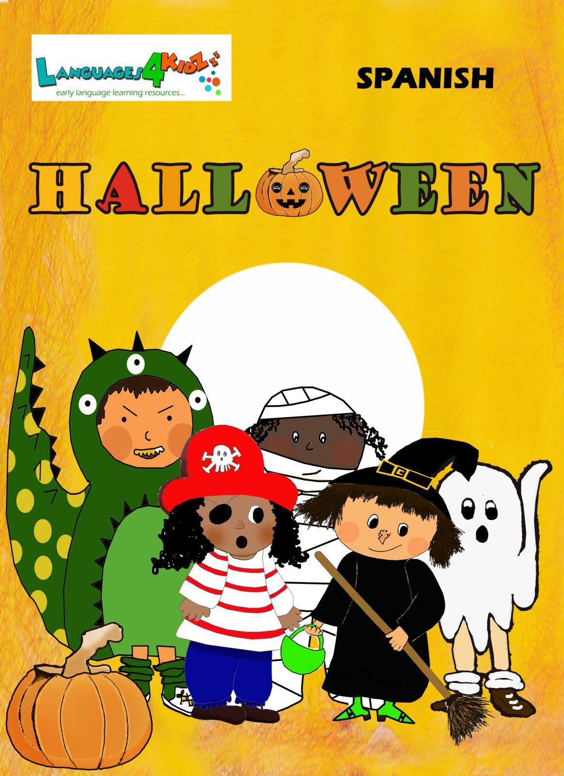 Halloween Booklet Spanish for kids Languages4kidz