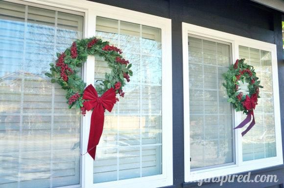 Decorating Small Front Yard Landscape Design Christmas Door