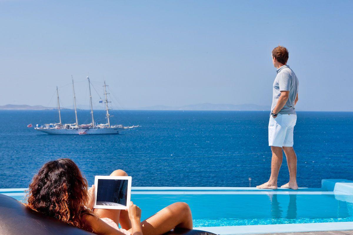 Kouros Boutique Hotel In Mykonos Luxury Suites Hotel Mykonos