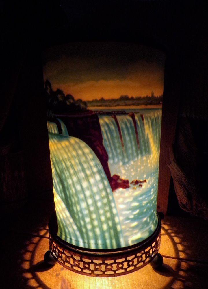 Econolite Corp 1955 Vintage Niagra Falls Motion Lamp Spinning Lamp Lamp Mid Century Modern Lamps Modern Lamp