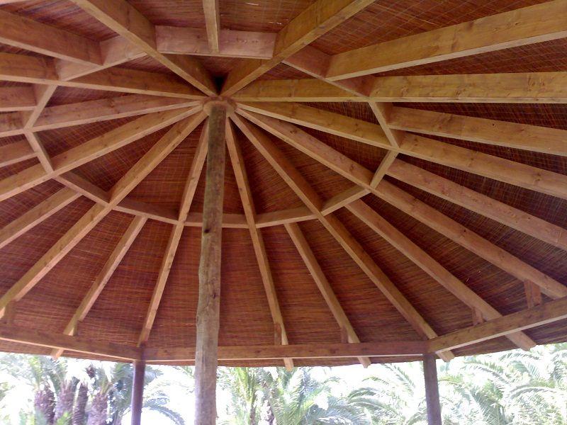P rgolas estructuras de madera techos - Estructuras de chimeneas ...