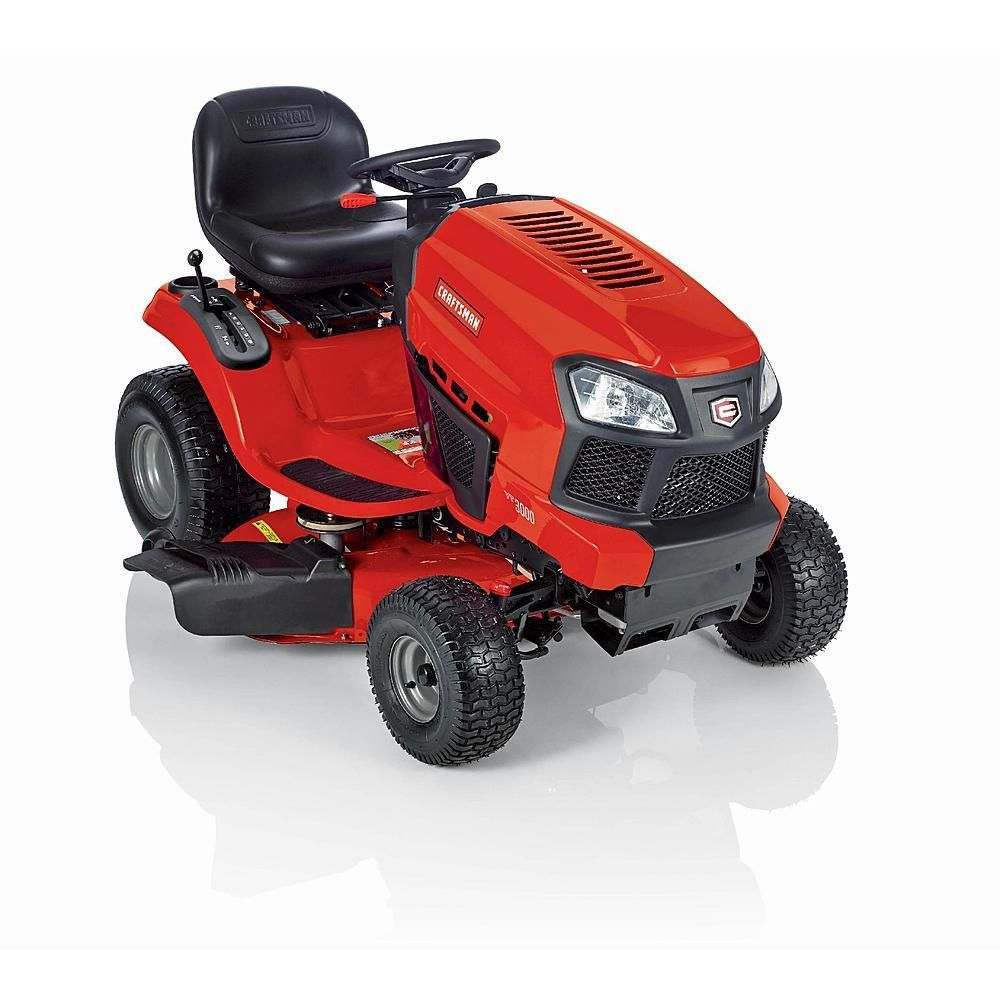 2014 Craftsman T2000 Model 20380 42 In Gear Drive 19 Hp Yard Tractor Review 540cc Single Briggs Platinum Riding Mower Riding Mower