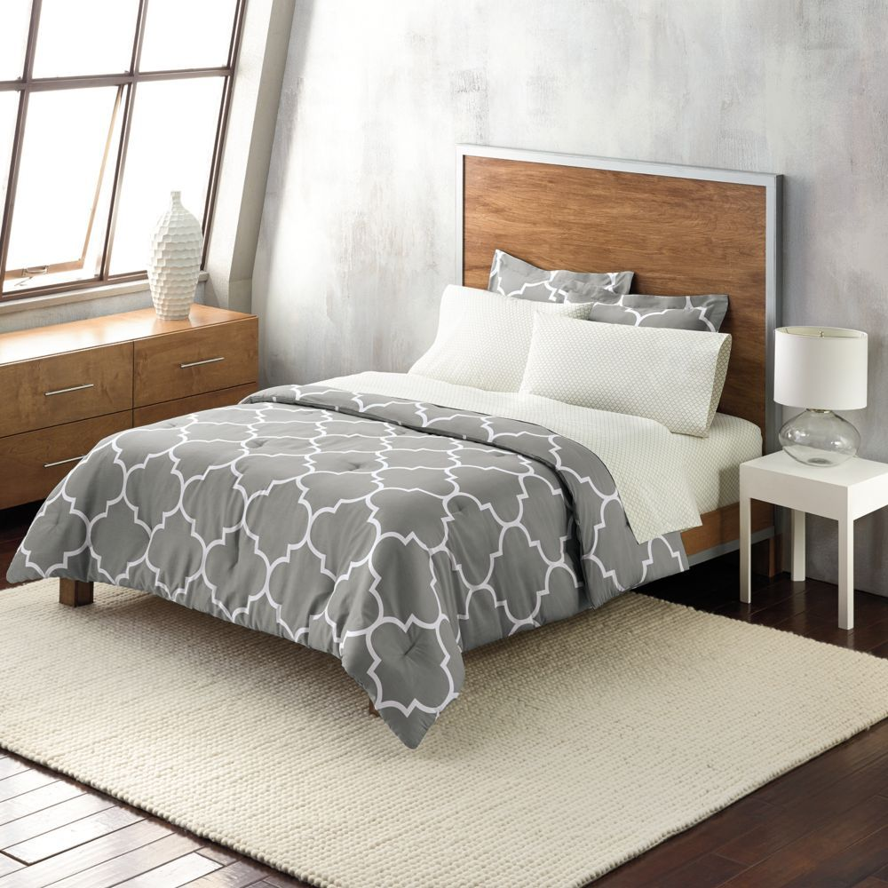 Bedroom Decor Kohl S apt. 9® trellis gray duvet cover collection$80 kohls | newly