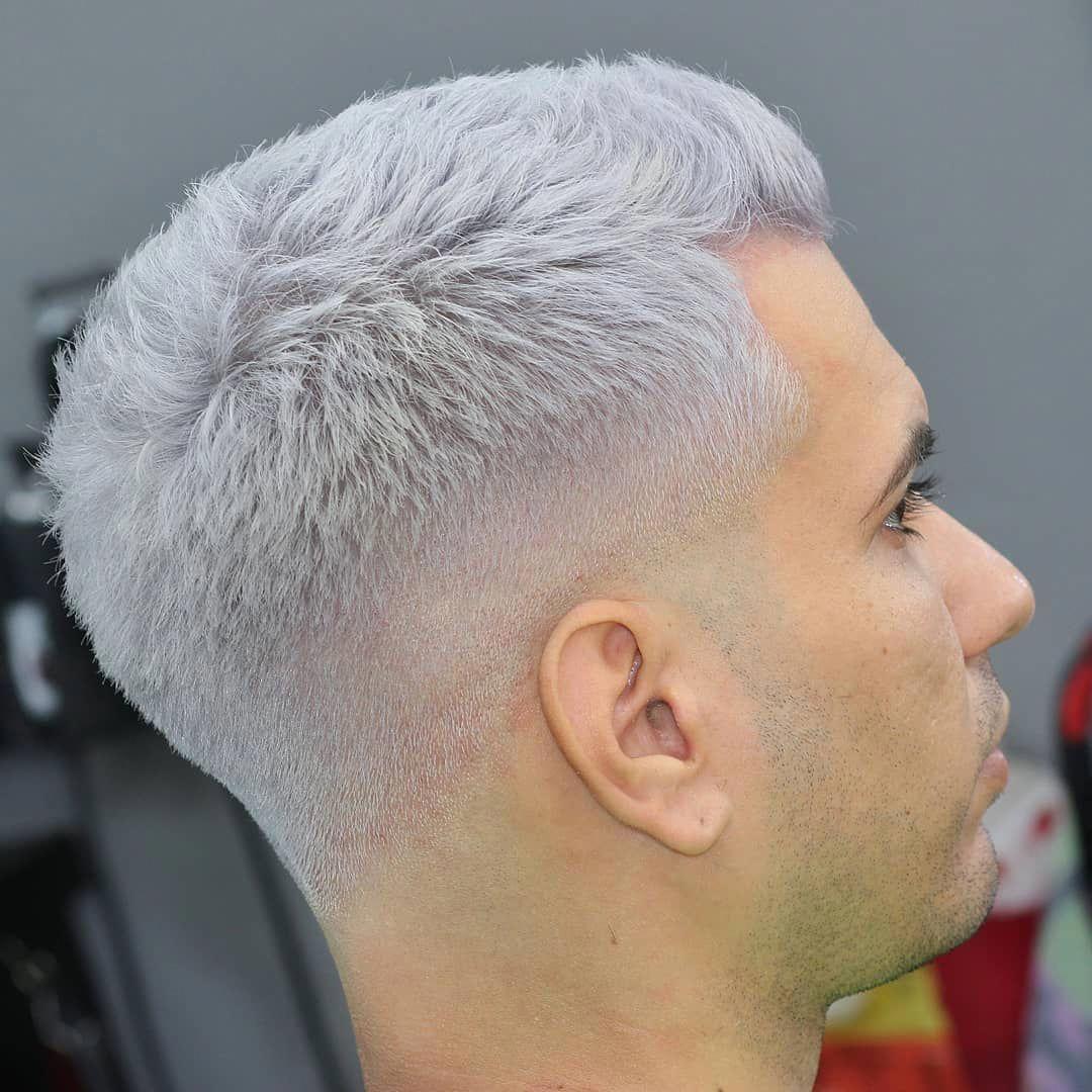 Gray Hair Hair Haircolor Hairstyles Differentmenshairstyles Grey Hair Men Dyed Hair Men Men Hair Color