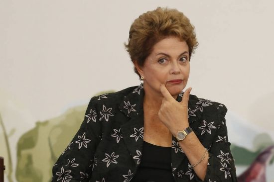 A presidente Dilma - Fornecido por Estadão