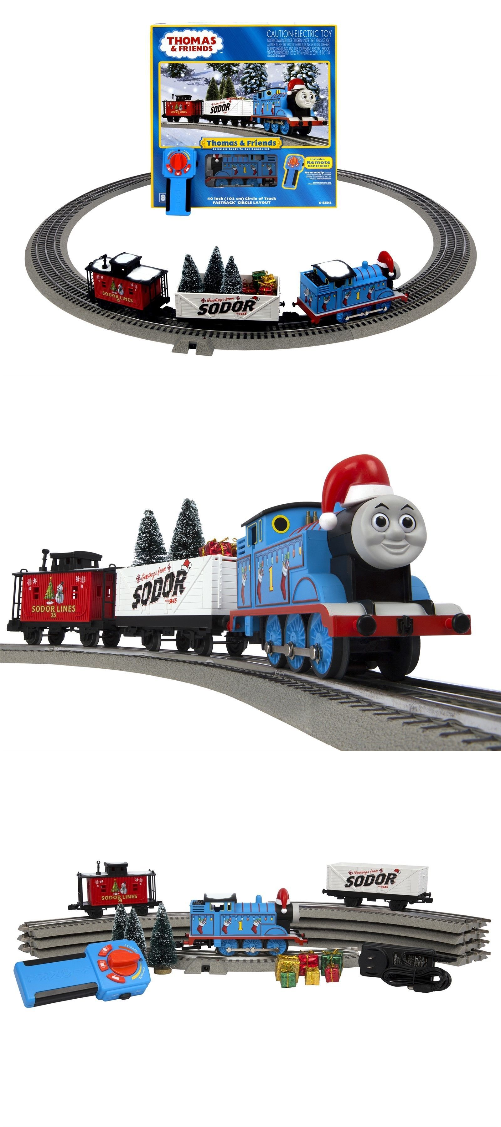 Thomas The Train Christmas Set.Lionel Thomas Friends Christmas Lionchief Remote Control