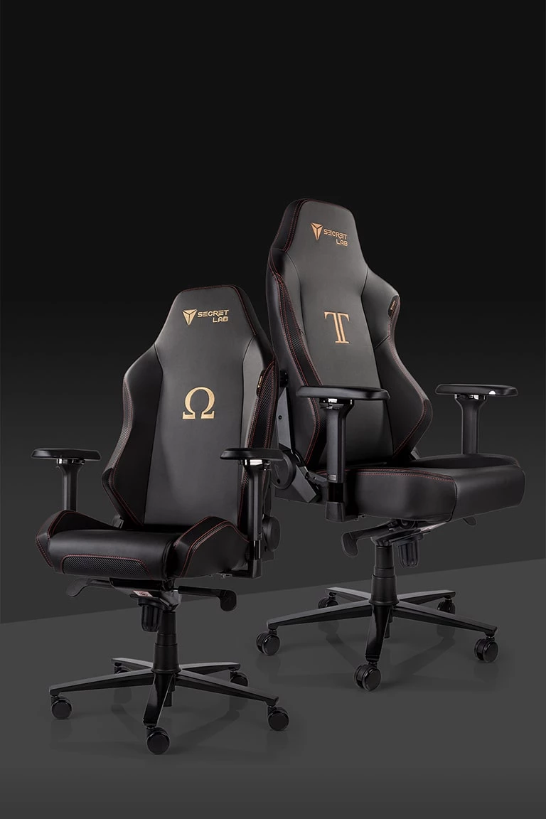 Secretlab chairs are engineered for long hours of comfort