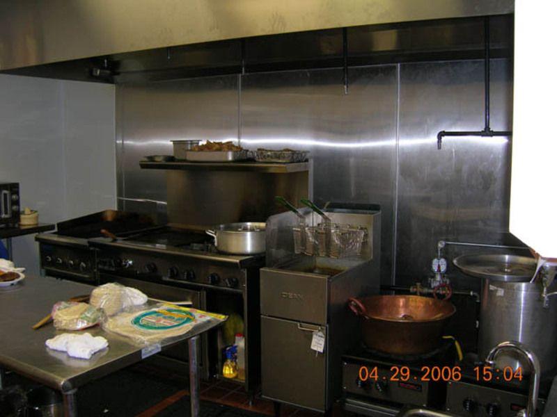 Restaurant Kitchen Design Sample Restaurant Kitchen Design