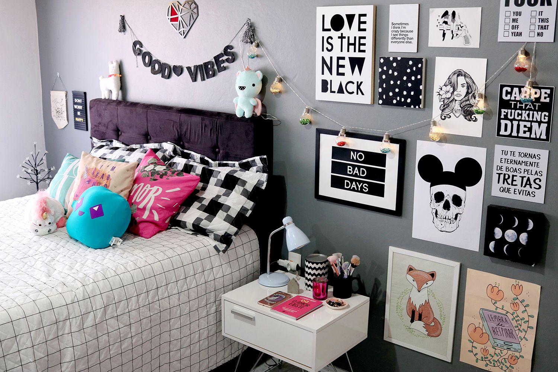 Tour pelo quarto / Decoração tumblr | Dormitorio, Ideas para ...