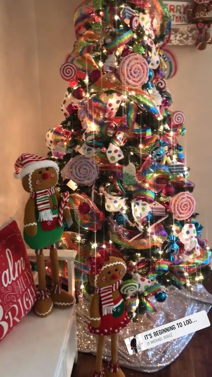 Candy Christmas Tree -   18 christmas tree themed ideas