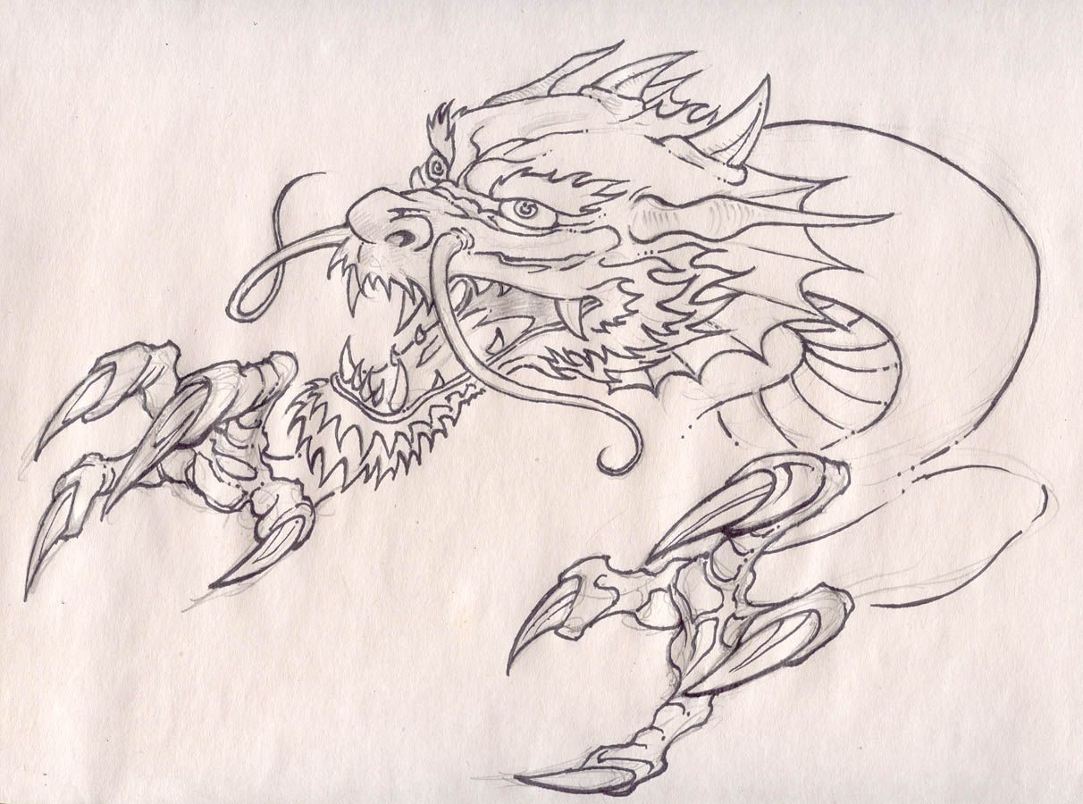 Dragon Head And Claws By Panchovilla On Deviantart