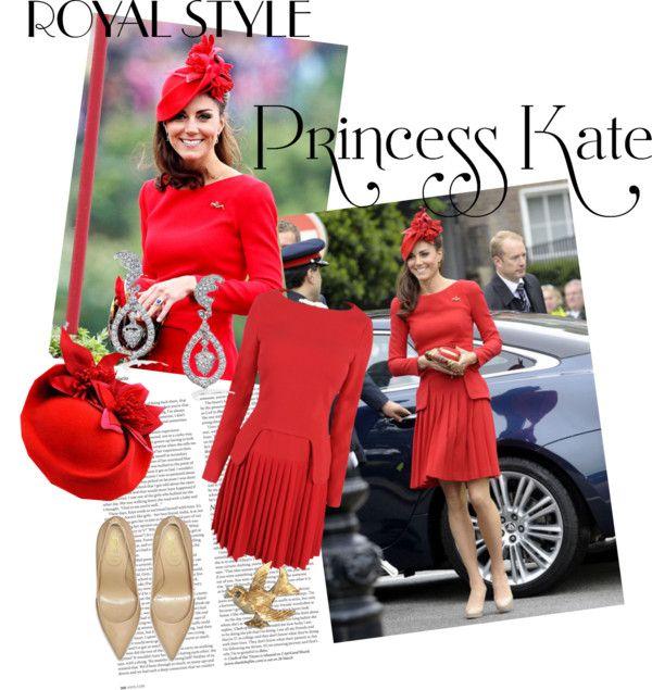 """Princess Kate"" by lights-btr ❤ liked on Polyvore"